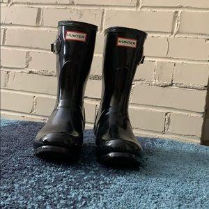 Hunter Boots: Women's Original Short Gloss